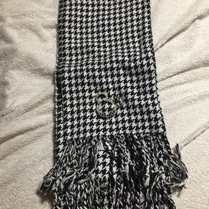 Houndstooth Mickey Mouse Crystal Head Scarf